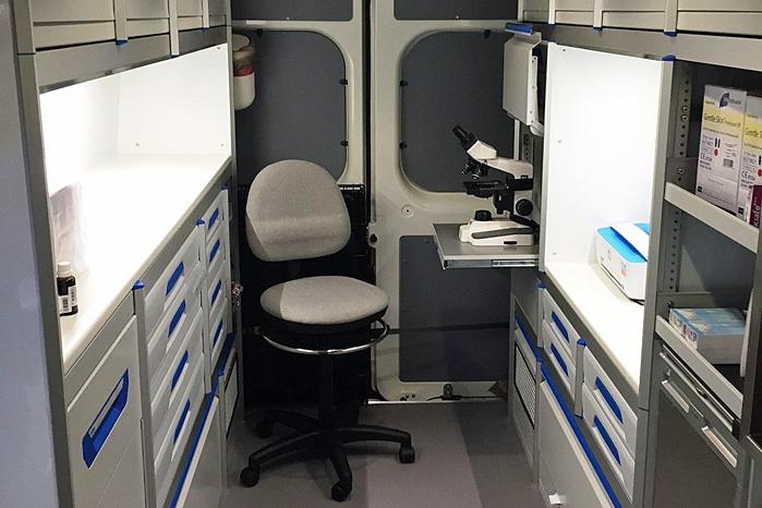 Klassens bredest varerum med 178 cm mellem væggene giver optimal plads til gerningen