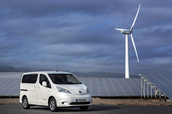 Nissan-Renault satser fortsat stort på eldrevne biler, og e-NV200 trækker en stor del af læsset