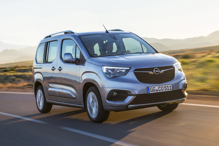 Opel Combo fik lov at vælge sidst, da der blev delt udklædningstøj ud