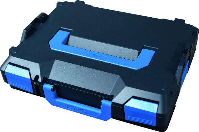 """Den nye L-Boxx-familie fra Sortimo skifter farve fra lysegrå til """"cool grey"""""""