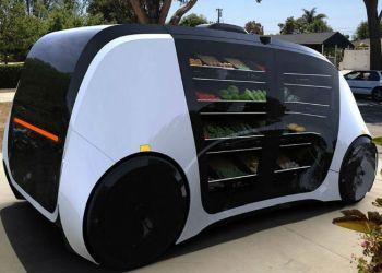 Robomart er en selvkørende ferskvarebutik - designet til at køre ud til kunderne, hvor de bor