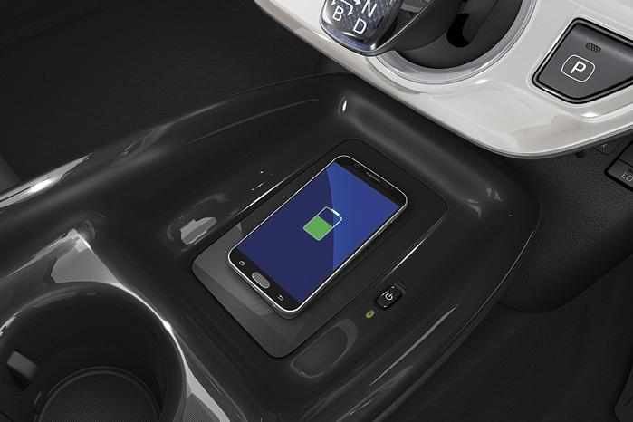 Trådløs opladning af mobilen har ikke noget med opladningshybrid at gøre - selv om det er nærliggende