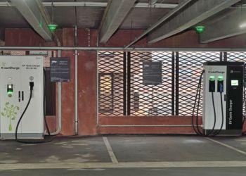 Danmarks første ladestation med 150 kW står i Københavns Nordhavn, men der er endnu ingen kunder til stikket