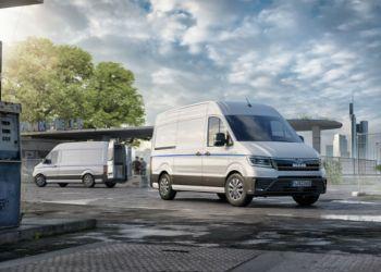 MAN eTGE havde premiere på den internationale udstilling for varebiler i Hannover i september. Foto: MAN