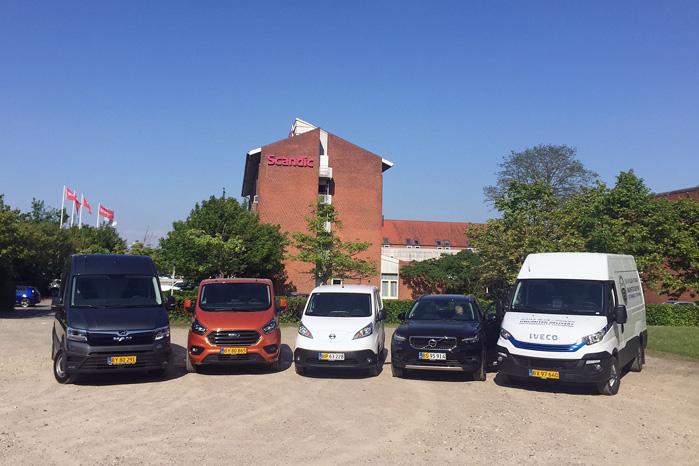 MAN TGE, Ford Transit Custom, Nissan e-NV200, Volvo XC40 Van, Iveco Daily. Det er finalisterne til Årets Varebil 2018