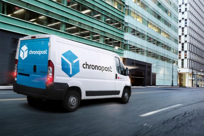Chronopost er en af Frankrigs førende distrubutører af pakker op til 30 kg. Foto: Chronopost