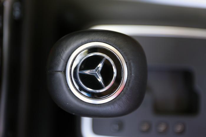 Sagens kerne. Man kan ikke lige se det, men lige midt i sigtekornet står der en VW Amarok