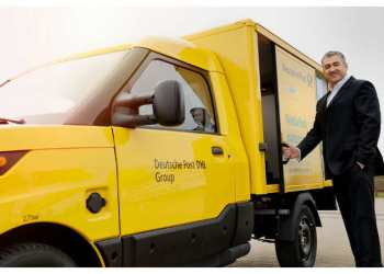 Jürgen Gerdes er manden bag Deutsche Posts' engagement i fremstillingen af StreetScooter. Foto: Deutsche Post DHL Group