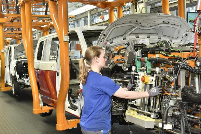 I Hannover blev der i 2017 fremstillet 175.290 T6-biler
