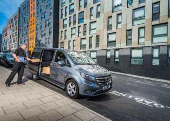Fra næste år gælder godskørselsloven også for varebiler Foto: Mercedes-Benz