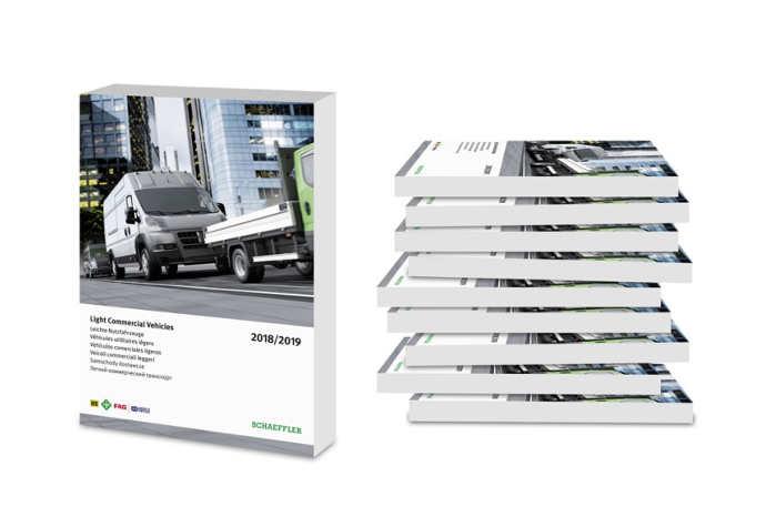 Varebil-kataloget er på 625 sider og indeholder flere end 3000 komponenter til de 35 mest almindelige modeller. Foto: Schaeffler