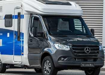 Mercedes har haft øje for camperfolket i udviklingen af Sprinter F-Cell, men siger, at bilen også er interessant for kurérvirksomheder