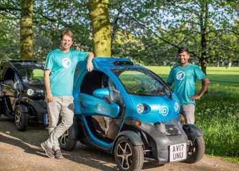 Wayve's grundlæggere Alex Kendall ogAmar Shah mener at have fundet vejen fremad til at løse problemerne med selvkørende biler. Foto:Wayve