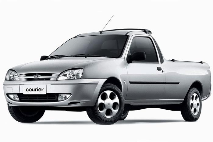 Ford Courier blev fremstillet i Brasilien til det sydamerikanske marked frem til 2013