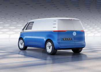 Konceptbilen I.D. BUZZ CARGO er den første varebil baseret på den nye I.D.-familie