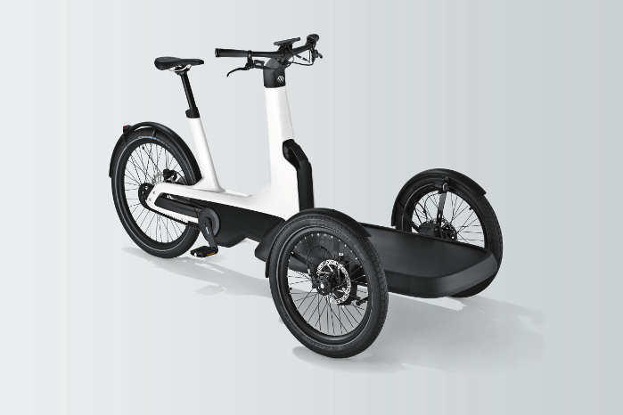 Den trehjulede VW Cargo e-Bike vil blive lanceret i 2019