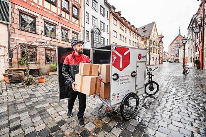 DPD anskaffer sig flere og flere el-drevne varecykler. Foto: DPD