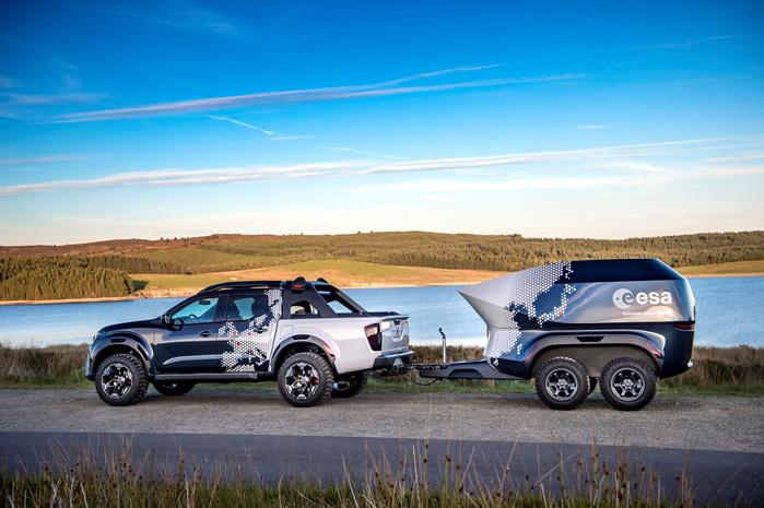 Nissan N-Guard kommer til Danmark i næste måned. Nissan N-Guard kommer til Danmark i næste måned. Foreløbigt uden spacelab