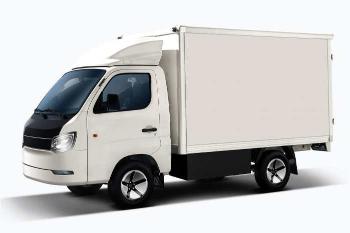 Boksvarebilen IONA Truck har en ladetid på 2 timer og en rækkevidde på 300 km