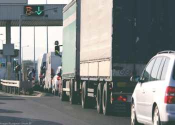 Roadpricing for lastbiler indfases i 2024 og for varebiler i 2028. Foto: AP Images/European Union-EP