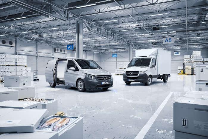 Conversion World omfatter alle modeller fra Citan over Vito til Sprinter