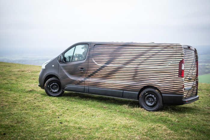 Nissan NV300 Concept-van er bygget i samarbejde med den engelske designvirksomhed Hardi Designstudio