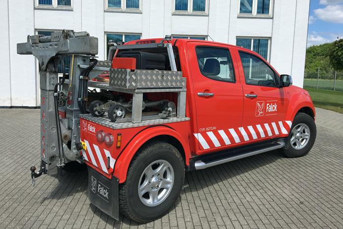D-Max er bygget som en lastbil men er kompakt nok til at kommer undt i byerne
