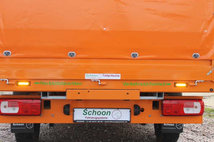 To lasteramper kan trækkes ud af bagsiden