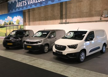 Årets varebil i Danmark 2019 blev PSA-trillingerne