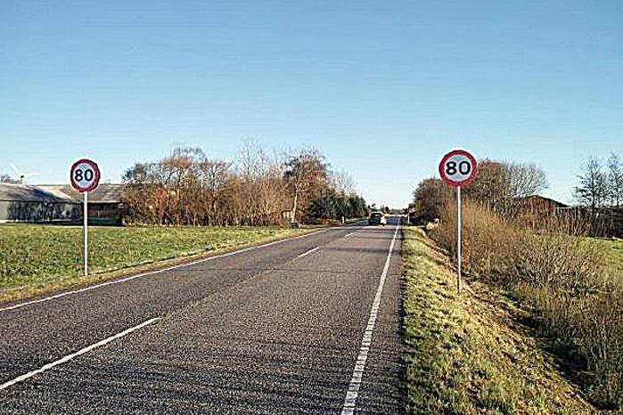 Fra nytår må lastbiler køre 80 km/t på landeveje - men kun på visse strækninger - og kun måske