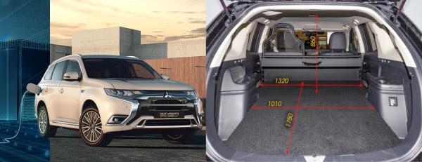 Mitsubishi Outlander PHEV varebil