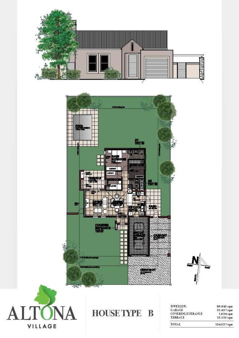 Altona _ House plan B