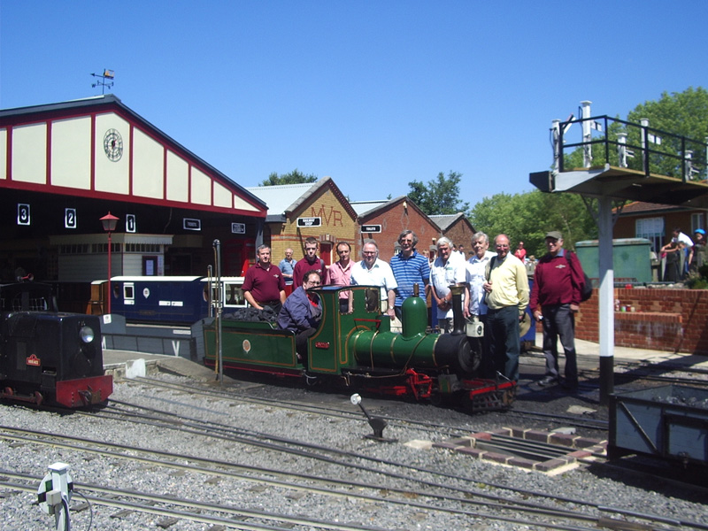 Members enjoy a good day out
