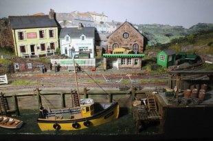 The harbour at Crackington Quay