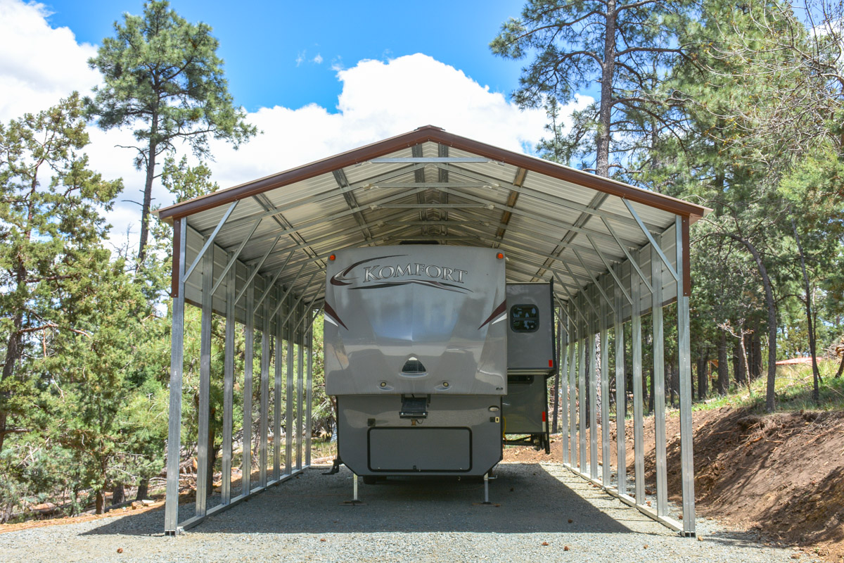 RV Covers from Eagle Carports