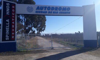 El Autódromo de Río Cuarto se prepara para el retorno a las prácticas bajo protocolo sanitario.