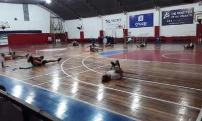 El club Gorriones volvió a los entrenamientos con el debido protocolo sanitario.