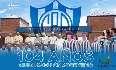Este 7 de septiembre Pabellón Argentino de Alejandro Roca festeja su 104 aniversario.