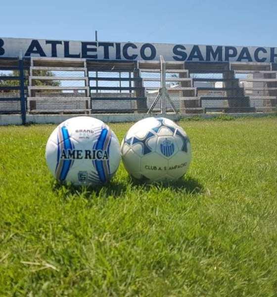 Atlético Sampacho volvió a los entrenamientos en formativas.