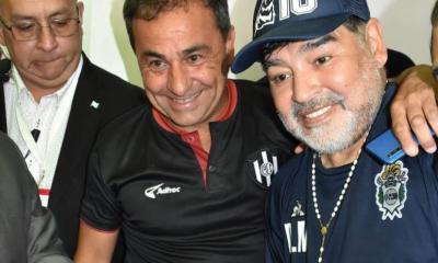 Coleoni y su recuerdo con Maradona.