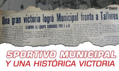 Un día como hoy, en 1945, Municipal dio el batacazo ante Talleres.