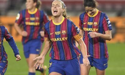 Alexia Putellas, la capitana que se convirtió en la primera jugadora en marcar un gol oficial en el Camp Nou.