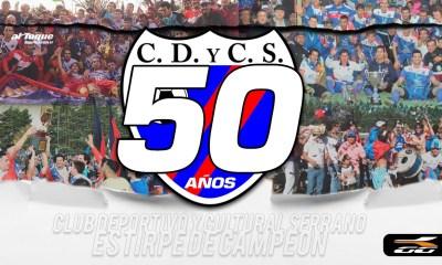 Deportivo y Cultural Serrano cumple 50 años.