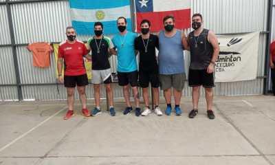 Algunos de los participantes del torneo de bádminton realizado en Las Acequias el último fin de semana.