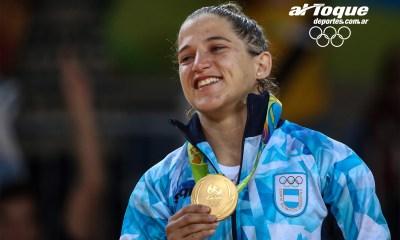 La judoca Pareto ganó el oro en Rio 2016.