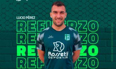 Lucio Pérez, lateral nacido en General Deheza jugará en Sportivo Belgrano de San Francisco.