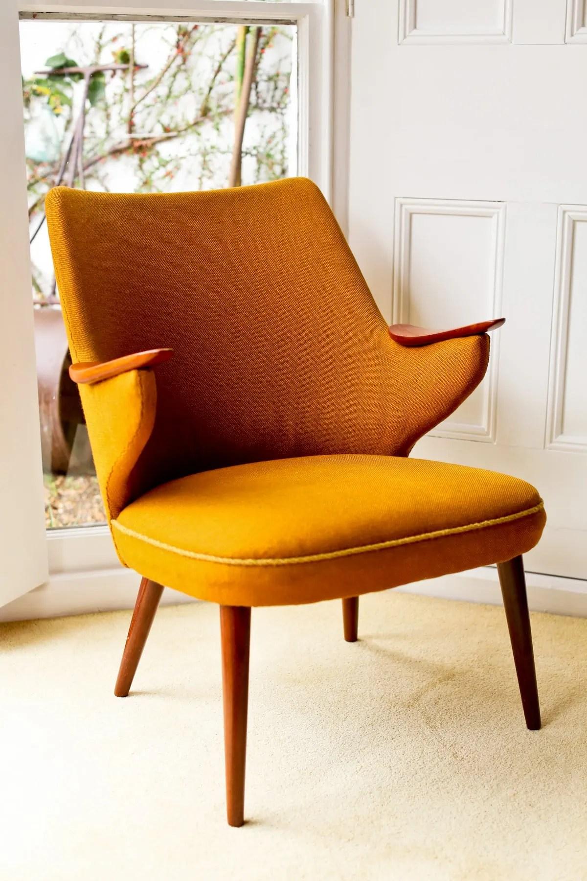 Mid Century Furniture London  Danish Armchair  Alto Stile