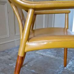 High Back Velvet Chair Uk Foldable Long Sofa Bender Madsen & Larsen | Danish Armchair Alto Stile