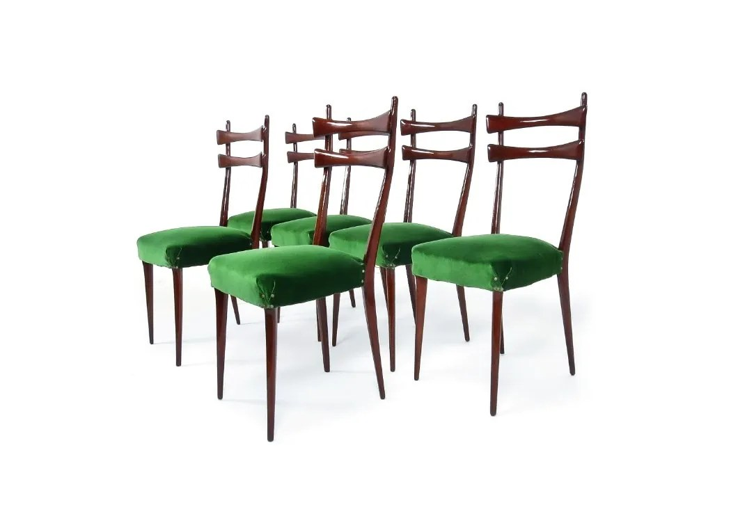 Italian Dining Chairs Mid Century Dining Chairs Italian Dining Chairs Velvet 1950 S