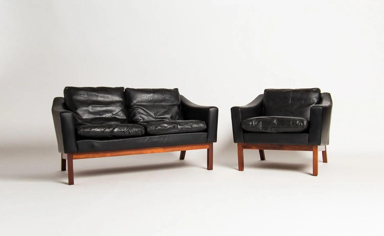 Mid Century Sofa Danish Furniture Uk Leather Rosewood Alto Stile